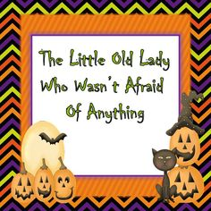 Reading comprehension mini packet for The Little Old Lady Who Wasn't Afraid of Anything. FREE