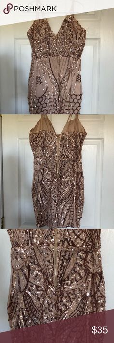 Sparky sequin dress Like new! Windsor Dresses Mini