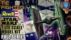 TIE Fighter | Revell Star Wars 1:110 Scale Model Kit | Full Series Tie Fighter, Scale Models, Star Wars, Kit, Crafts, Starwars, Crafting, Diy Crafts, Craft