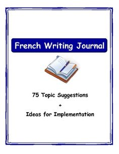 Project Resources: Research Project Topic Ideas (French/Francophone)