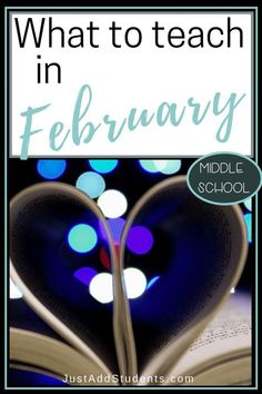 Looking for tools and teaching tips for February? This post will provide ideas for what to teach this month. Perfect for middle school planning! Middle School Activities, Middle School Writing, Middle School English, Middle School Classroom, High School, English Classroom, Math Activities, Expository Writing, Teaching Writing