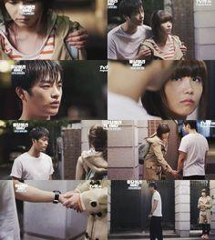 """""""Las relaciones tienen niveles. Para mi, Yoon Jae era la más fácil. Era facil de explicar y mantener. Una relación casual entre dos viejos amigos. Pero ese día, me di cuenta de algo. Quizás, la nuestra también, puede saltar al nivel más difícil del mundo"""" (Si Won) - Reply 1997"""