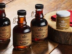 Made in Vermont for five generations. Specialty syrups liven up sauces, baking, grilling, and cocktails. The maple cream is a rich spread for pancakes & more.