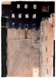 D-21.Dec.1992painting, collage on paper林孝彦 HAYASHI Takahiko 1992
