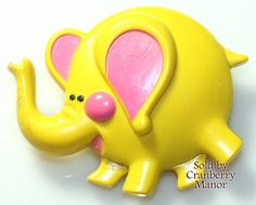 Vintage Avon Jewelry ~ Elphie Elephant Pin Pal Fragrance Glace - Free Shipping - J2495  Description ~ done in the 70s, and marketed toward the