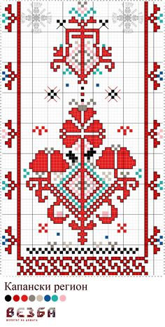 This Pin was discovered by Mel Palestinian Embroidery, Hungarian Embroidery, Folk Embroidery, Cross Stitch Embroidery, Embroidery Patterns, Cross Stitch Patterns, Cross Stitch Rose, Cross Stitch Flowers, Vintage Cross Stitches