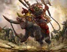 Iron Claw Horde Warhammer by ~masterchomic on deviantART