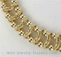 Calypso Bracelet (Chain Maille)