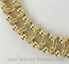 Calypso Bracelet (Chain Maille) Tutorial $3.00