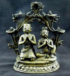 Bronze Rational Antike Bronze Jüngling Art Deco Original