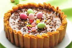 Découvrez la recette Charlotte au chocolat et crêpes dentelles et l'association du Cidre Val de Rance