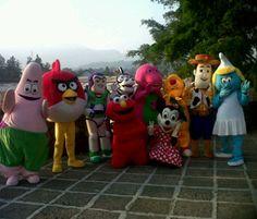 Jasa pembuatan kostum badut maskot murah di Tangerang selatan, juga melayani pembuatan kostum cosplay hubungi kami 087886662457