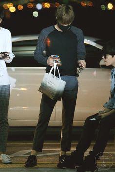 140903- EXO Kai (Kim Jongin), Incheon Airport to Beijing Airport #exok #korean #men #fashion #style #kfashion #kstyle