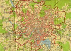 План Москвы 1939 года