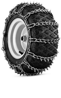 Tire Chains  @Husqvarna USA