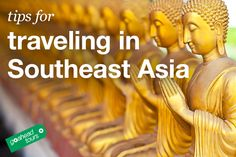 Tips for traveling in Southeast Asia #travel #tips