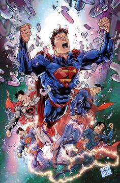 Convergence #0 - Superman by Tony Daniel *
