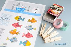 image poisson d avril Crafts To Do, Crafts For Kids, Arts And Crafts, Paper Crafts, Diy Crafts, Diy Pour Enfants, Tin Art, Small Gift Boxes, Activity Sheets
