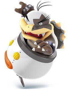 Morton Koopa Jr - Characters & Art - Super Smash Bros. for 3DS and Wii U
