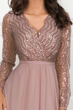 Dresses With Sleeves, Long Dresses, Formal Dresses, Wedding Dresses, Long Sleeve, Fashion, Bridesmaids, Long Dress Party, Vestidos