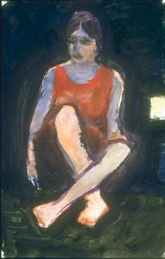 richard diebenkorn Untitled (n.d.), gouache, watercolor.