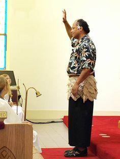 First sermon at Munholland United Methodist Church in New Orleans, Louisiana.