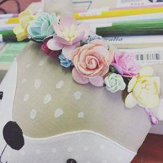 #preciouslittlepoppets #plp2016 #poppet #floral #flowercrown #ragdoll #clothdoll #kidstoys #toy #handmadeinaustralia #handmade #handmadeinaustralia #doll #handcrafted by preciouslittlepoppets