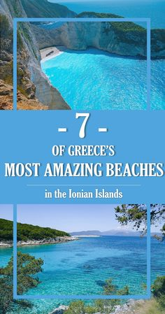 Explore the most breathtaking beaches in the Ionian islands - Xi Beach, Myrtos Beach, Dafnoudi Beach, Polis and the Blue Caves!