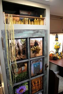 this entire post has some great decor ideas for rvs i just love this picture window door