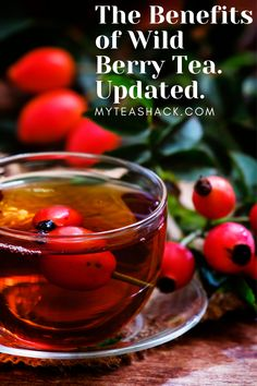Wild Berry tea is very fashionable because of the great benefits they have for our health, but do we really know what berries are? Best Tea Brands, My Tea, Drinking Tea, Healthy Drinks, Berry, Benefit, Sticker, Desserts, Food