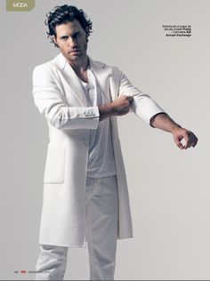 Edgar Ramirez for GQ- Photog: Karl Simone - Hair: Kristan Serafino - SerafinoSays.com