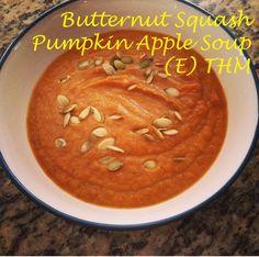 Grassfed Mama My Famous Butternut Pumpkin Apple Soup (E) - Grassfed Mama