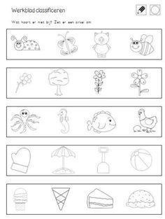 18 Zomerwerkbladen voor kleuters
