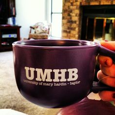 Best tea mug! #sick #UMHB #teatime #warm [Photo by meganeliza29 via Instagram]