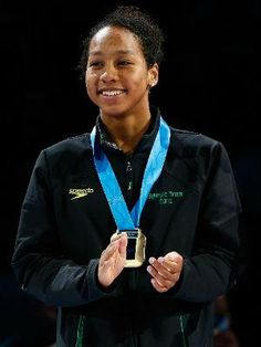 Lia Neal is only 2nd Black woman in history to earn place on USA Olympic Swim Team     Lia, who is also half Chinese, comes after the first Black woman to make the U.S. Olympic swim team, Maritza Correia, who was a silver medalist in the 4 x 100 freestyle relay in 2004.