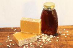 Wildflower Honey & Oatmeal Soap: Gentle Soap by TheBathingRaven