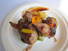 Roasted quail from Animal, one of my fave bites from last year's LA Loves Alex's Lemonade