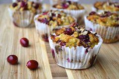 Cranberry, Orange, and Pecan Muffins