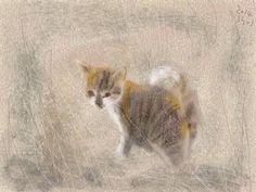 shozo ozaki artist | Shozo Ozaki | Cats cats cats II | Pinterest