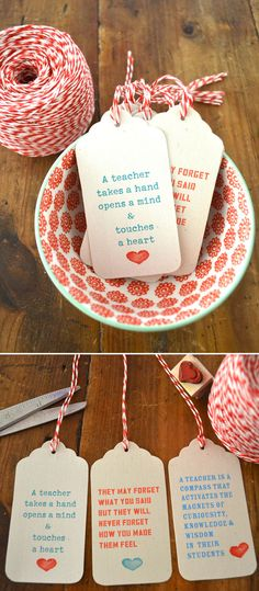 Want to show your teacher how much you appreciate them? Then you'll love these 10 DIY gift ideas for teachers! Perfect for teacher appreciation day, the end of the year, or just because!