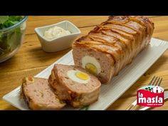#Pastel de pollo con huevo y bacon. Deliciosa #receta para compartir y muy fácil de preparar. El paso a paso, en nuestro blog.