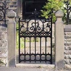 Wrought Iron Garden Gates   Outdoor design ideas - iOutdoor.