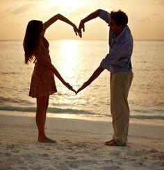 beach wedding, invite or thank you
