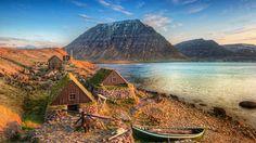 fishing village iceland - Google Search
