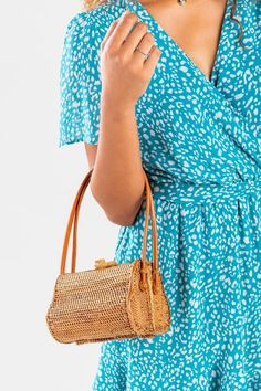 Gwen Rattan Satchel Handbag Tan Handbags, Satchel Handbags, Other Accessories, Rattan, Boutique, Shopping, Fall, Dress, Products