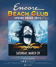 Tommy Trash at Encore Beach Club Las Vegas Saturday March 29th. 702.741.CITY(2489) CITY VIP CONCIERGE for Cabanas, Daybeds, Bungalows, Tickets and the Best of Any & Everything Fabulous in Las Vegas!!! #EncoreBeachclubLasVegas #SpringBreakVegas #CityVIPConcierge *CALL OR CLICK TO BOOK* http://cityvipconcierge.wantickets.com/Events/148650/Tommy-Trash-at-Encore-Beach-Club-Las-Vegas/