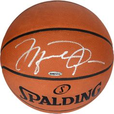 Michael Jordan Chicago Bulls Autographed Official Spalding Basketball  Signed in Silver - Upper Deck - Fanatics 3574f57b2