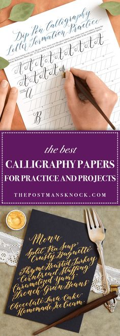 One of the most difficult aspects of learning calligraphy is choosing the proper calligraphy papers! In this article, you'll learn which papers are best.