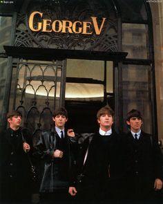 Richard Starkey, Paul McCartney, John Lennon, and George Harrison