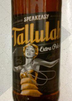 Cerveja Speakeasy Tallulah Extra Pale Ale, estilo American Pale Ale, produzida por Speakeasy Ales & Lagers, Estados Unidos. 5.6% ABV de álcool.